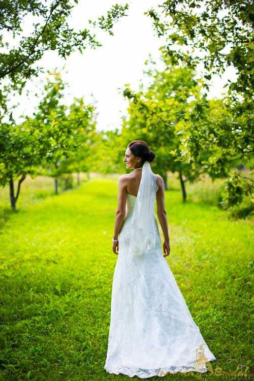 Strapless Fishtail Wedding Dress
