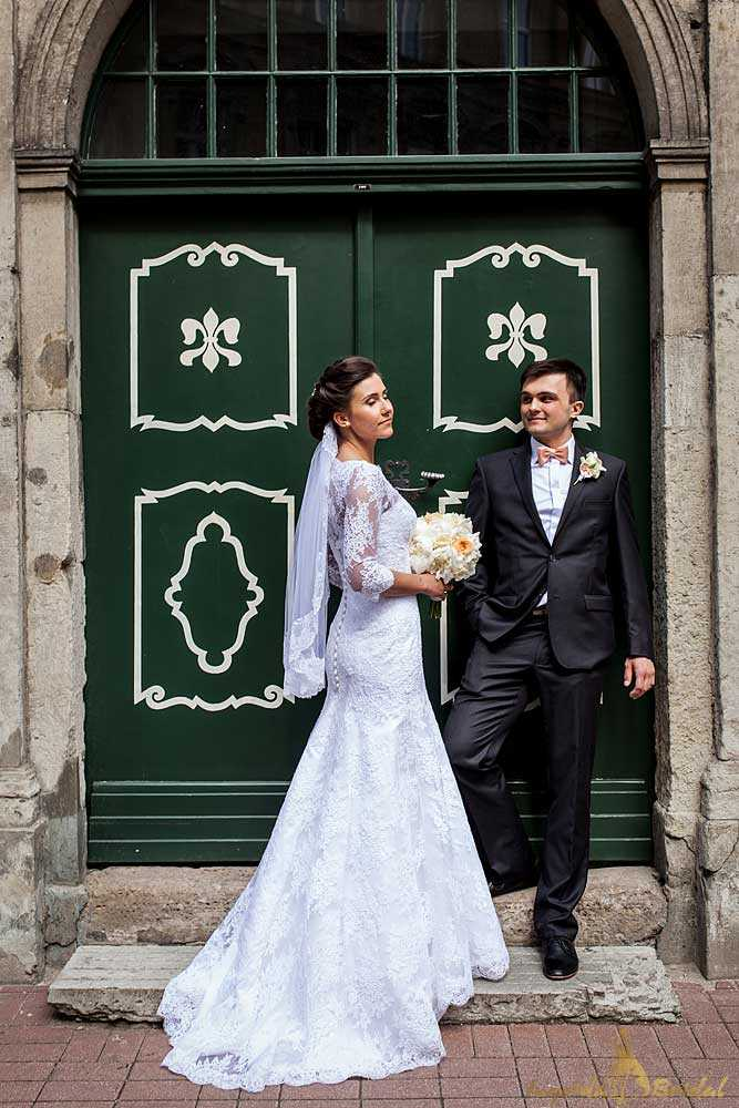 Bespoke Fishtail Wedding Dress
