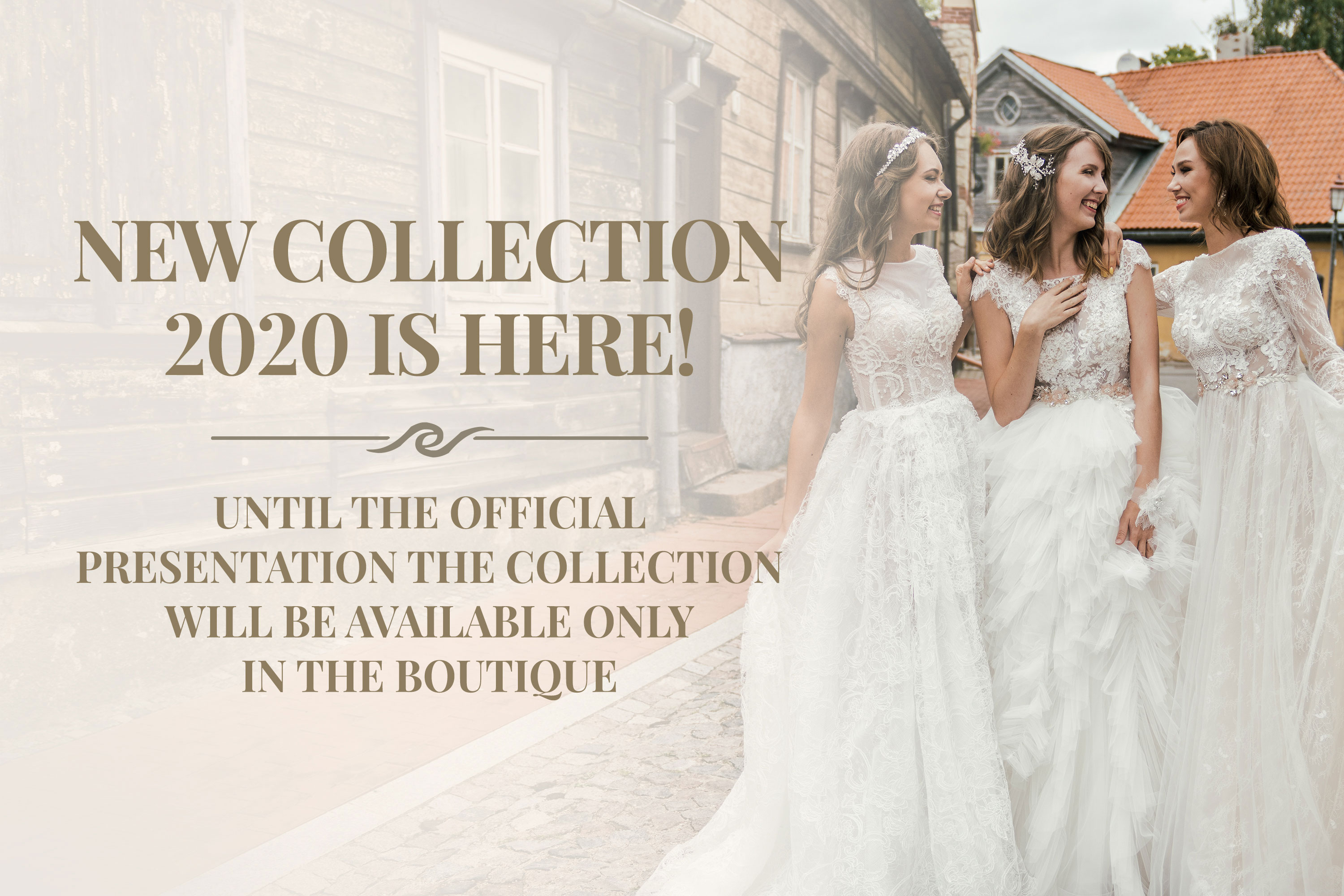 77cfeadff26 New collection 2020 is here! Until the official presentation the collection  will be available only in the boutique. wedding dresses ...