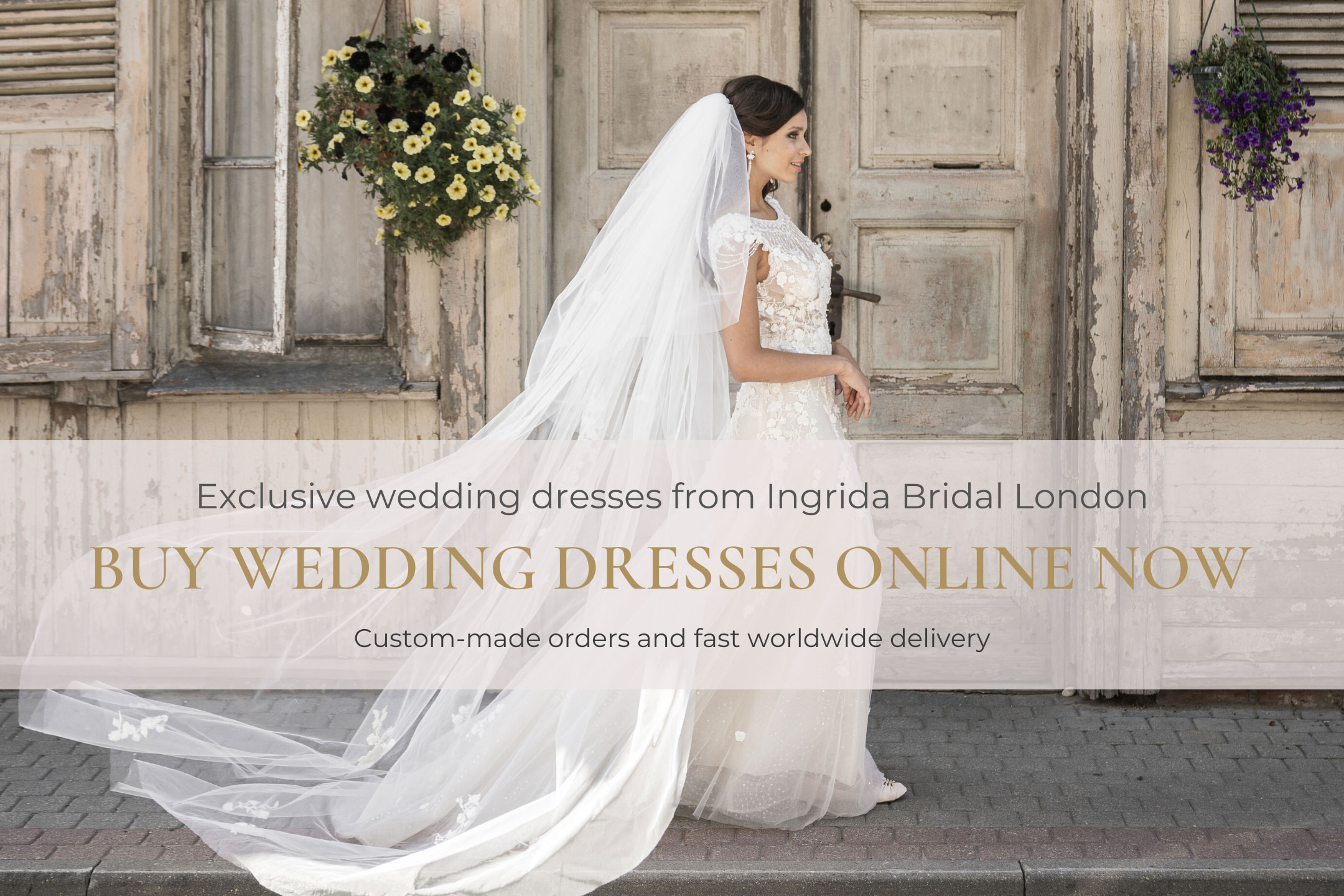 wedding dresses Ingrida Bridal London buy online